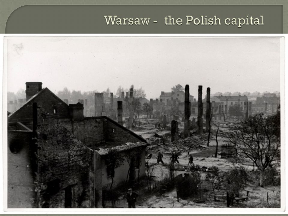 Warsaw - the Polish capital