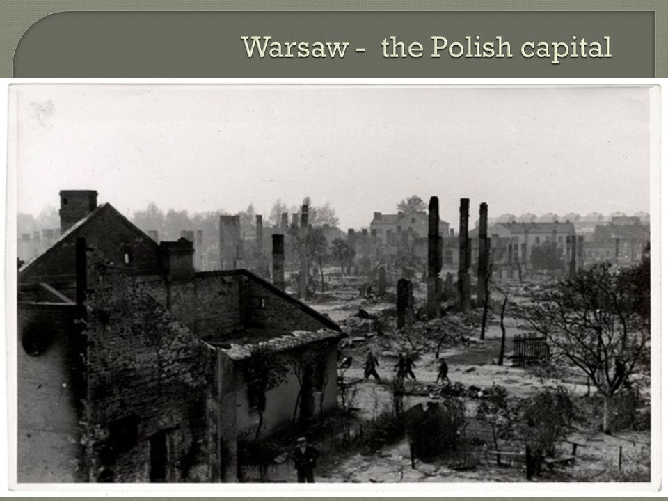 Warsaw - the Polish capital