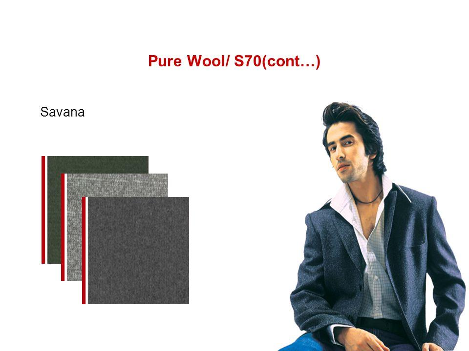 Pure Wool/ S70(cont…) Savana