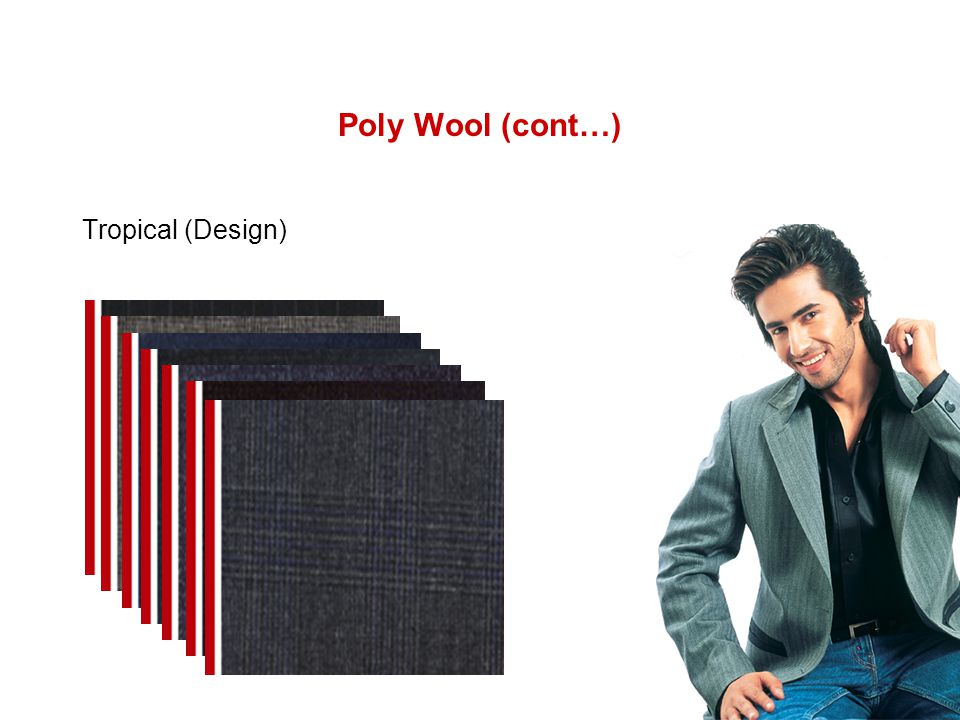 Poly Wool (cont…) Tropical (Design)