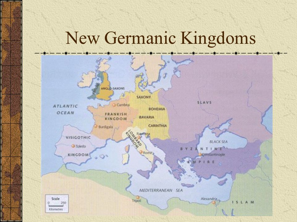 New Germanic Kingdoms Respects traditions of the republic 27 B.C. becomes Augustus