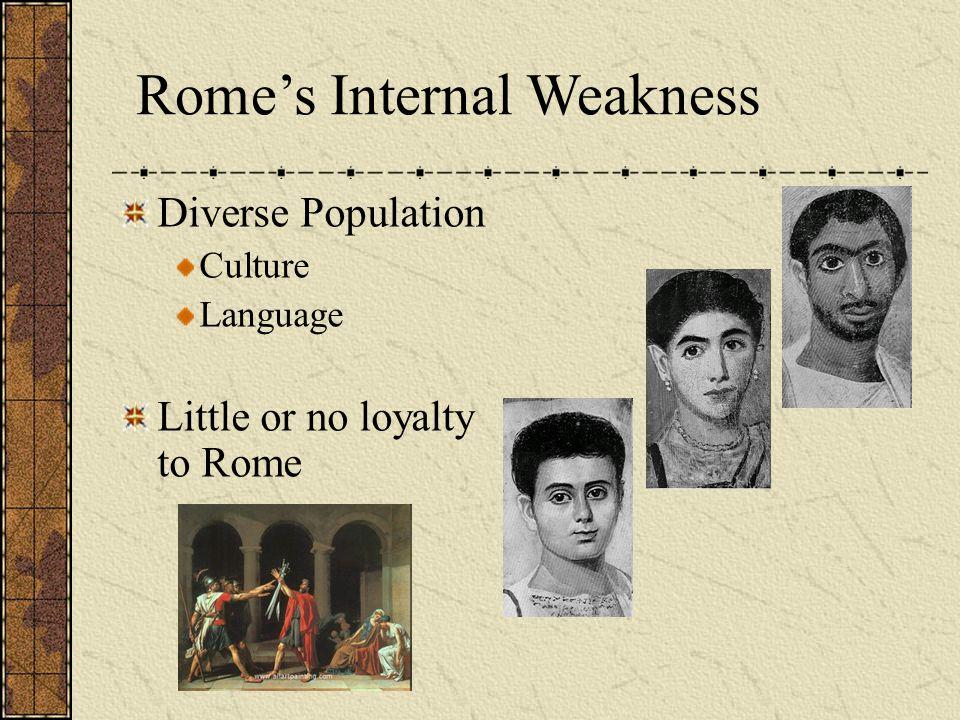 Rome's Internal Weakness