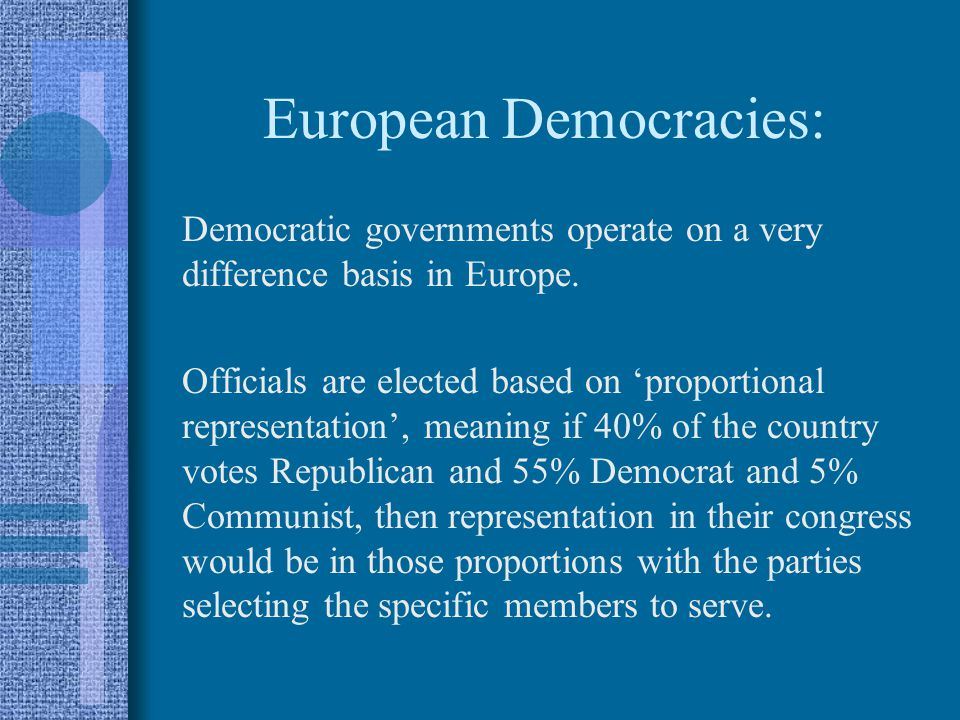 European Democracies: