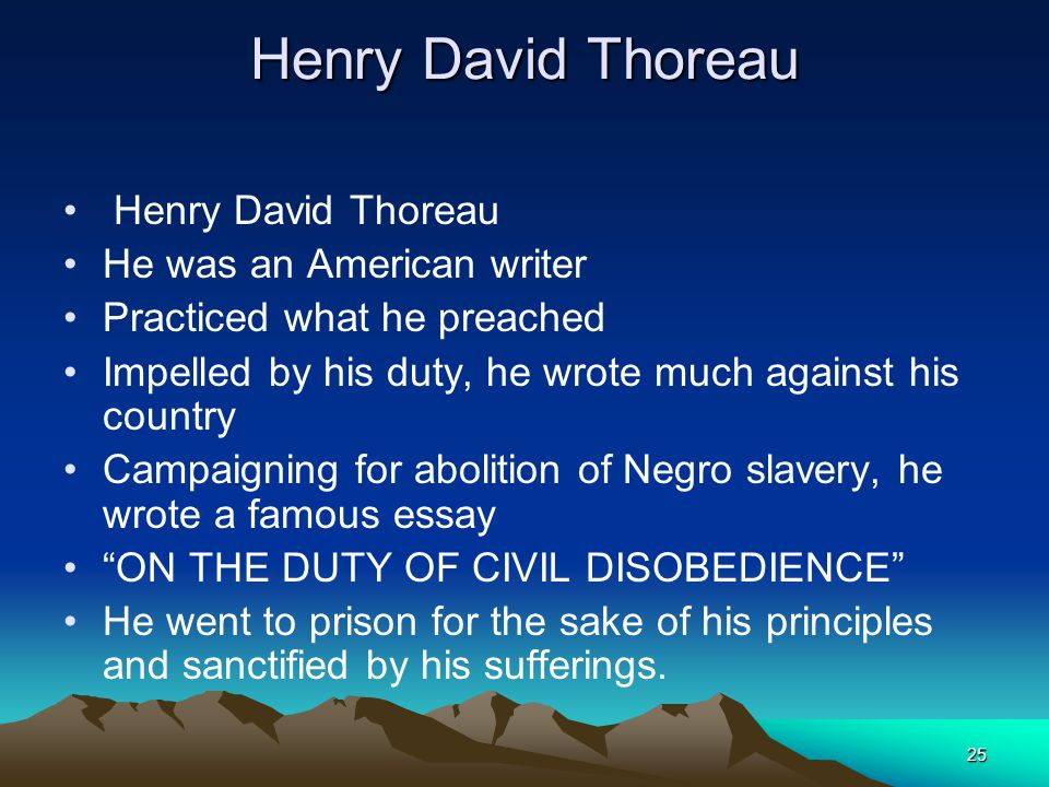 the political principles of thoreau essay Life without principle is an essay by henry david thoreau that offers his program  for a  similarly, politics is something that ought to be a minor and discreet part of  life, not the grotesque public sport it has become don't mistake the march of.