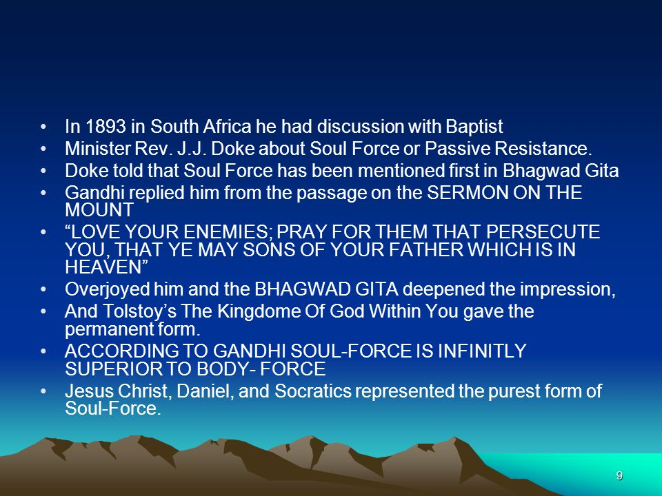 In 1893 in South Africa he had discussion with Baptist