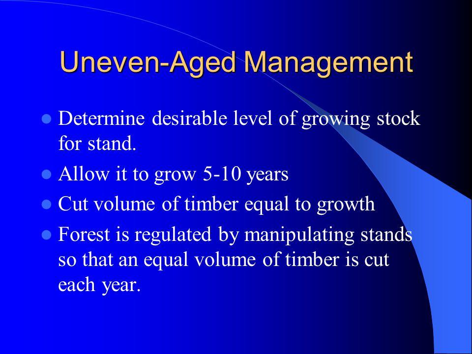Uneven-Aged Management