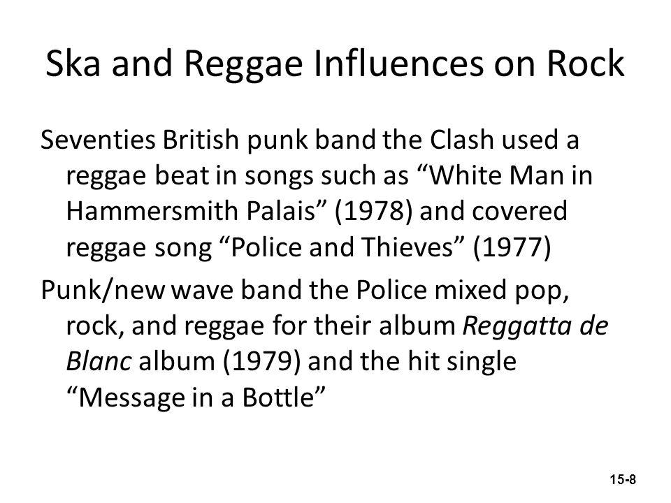 Ska and Reggae Influences on Rock