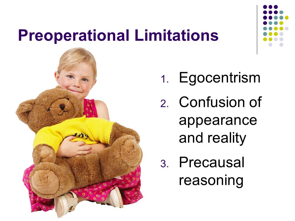 Preoperational Limitations