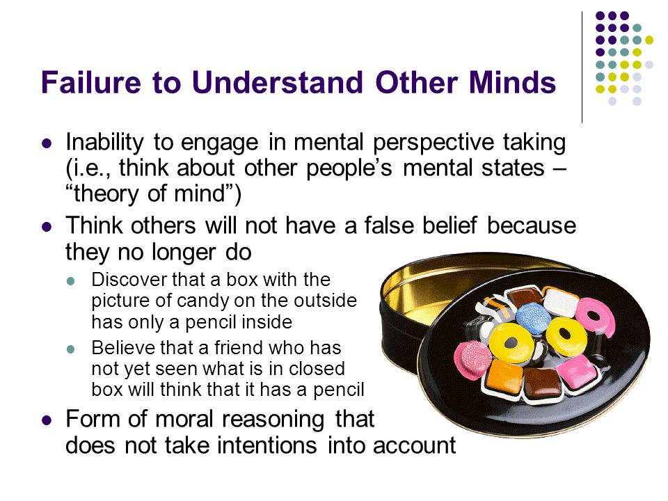 Failure to Understand Other Minds