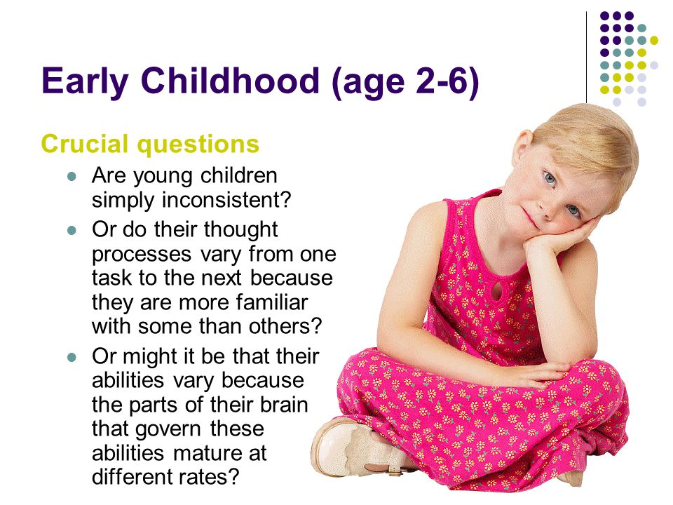 Early Childhood (age 2-6)