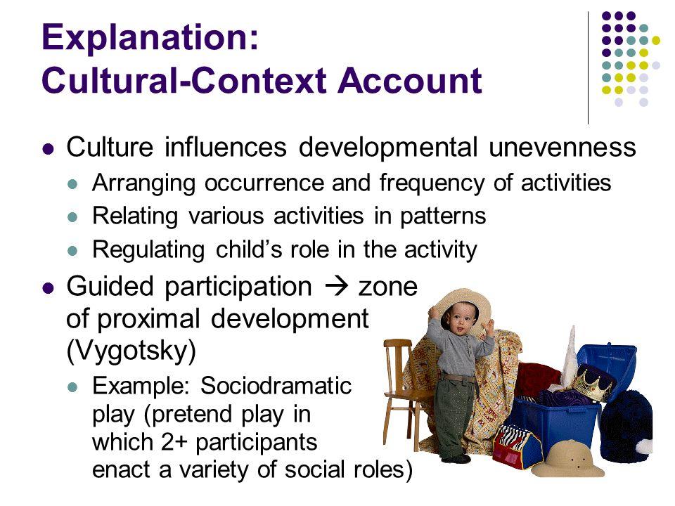 Explanation: Cultural-Context Account