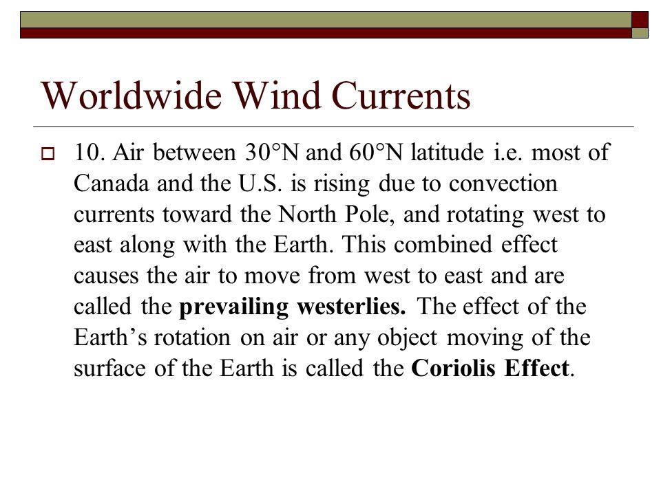 Worldwide Wind Currents