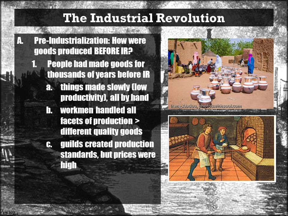 how did the industrial revolution negatively