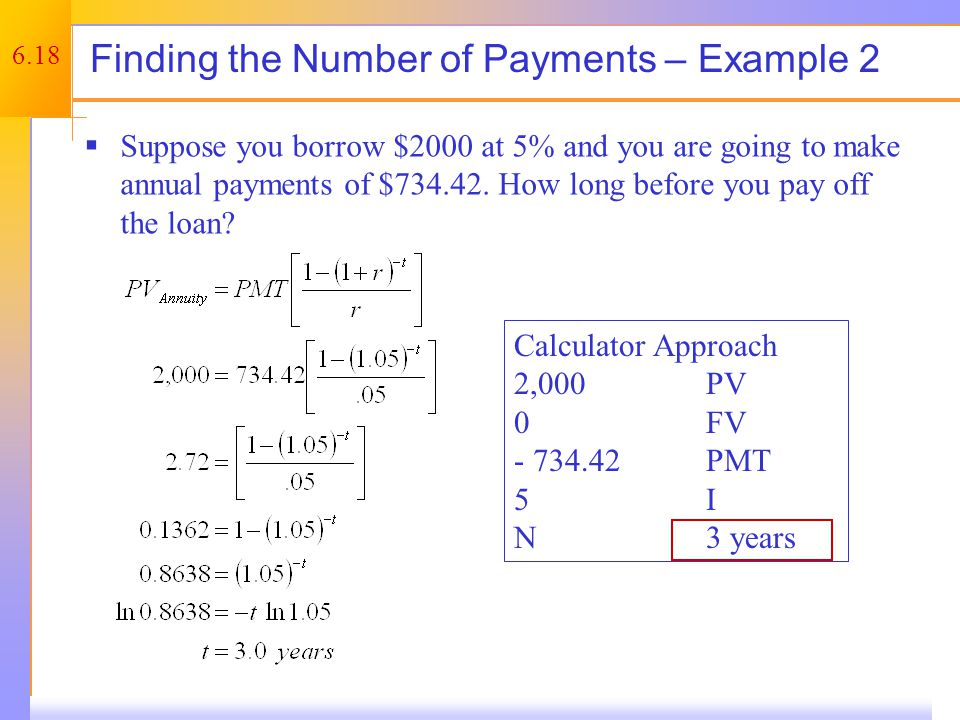 Finding the Rate On the Financial Calculator