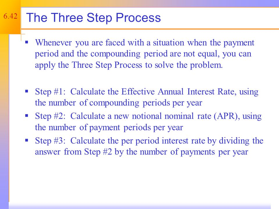 Mortgages – Example 1
