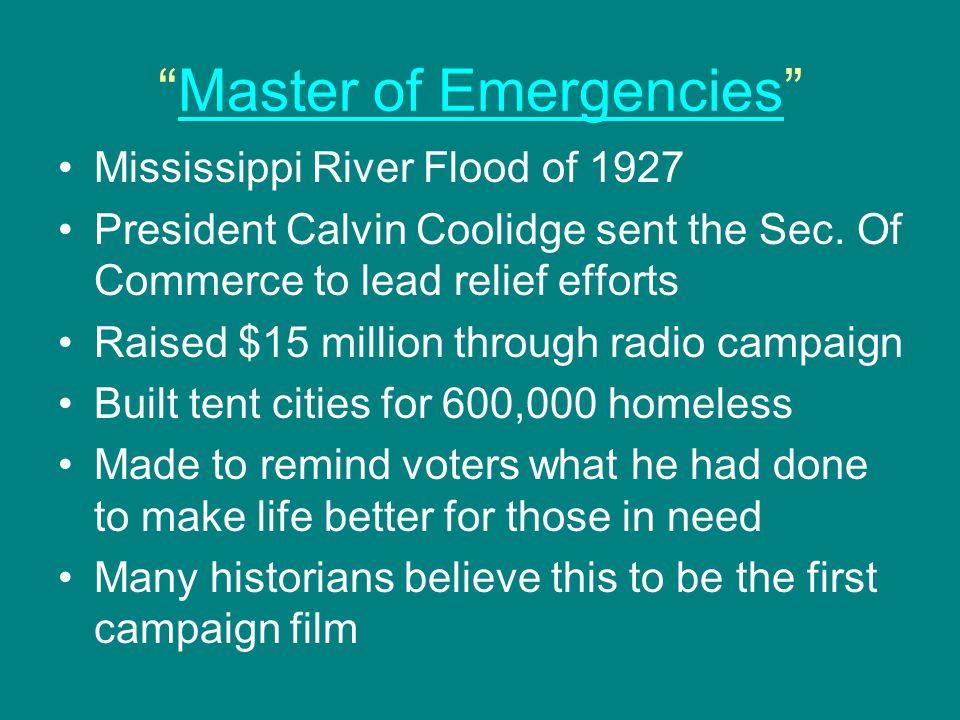 Master of Emergencies