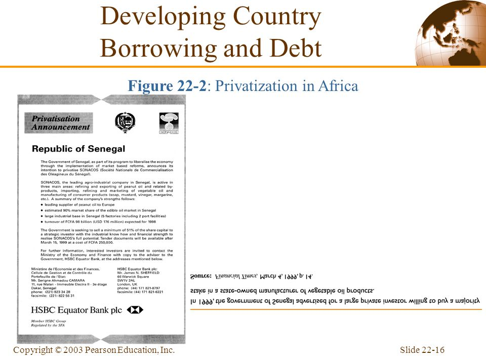 Developing Country Borrowing and Debt