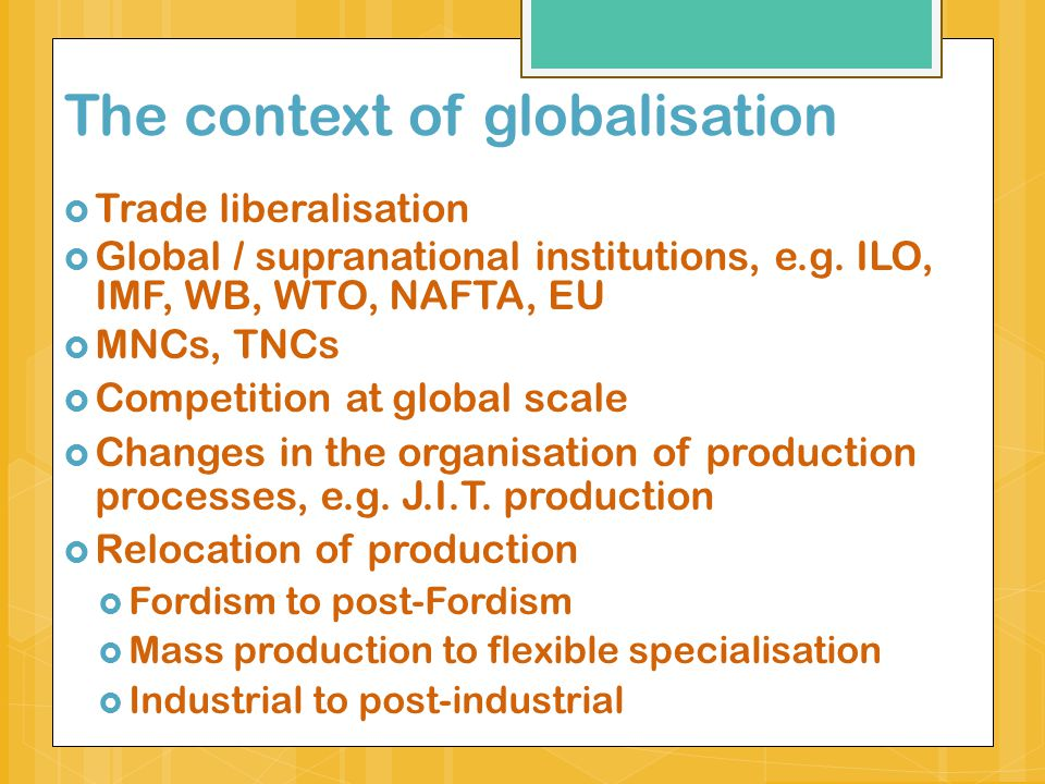 globalization topics for essay
