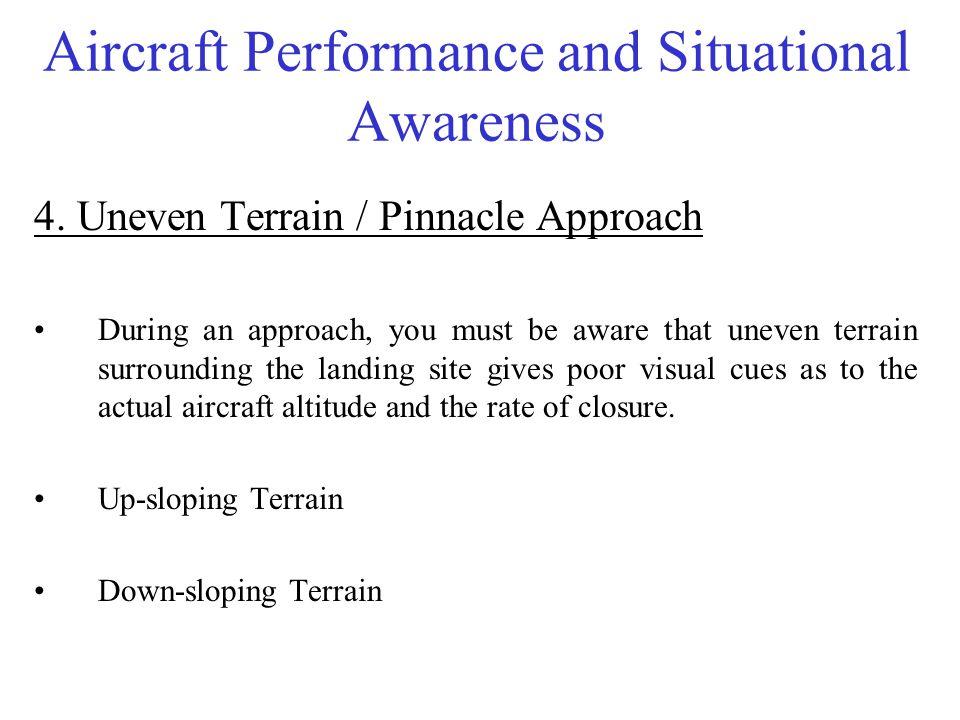Aircraft Performance and Situational Awareness