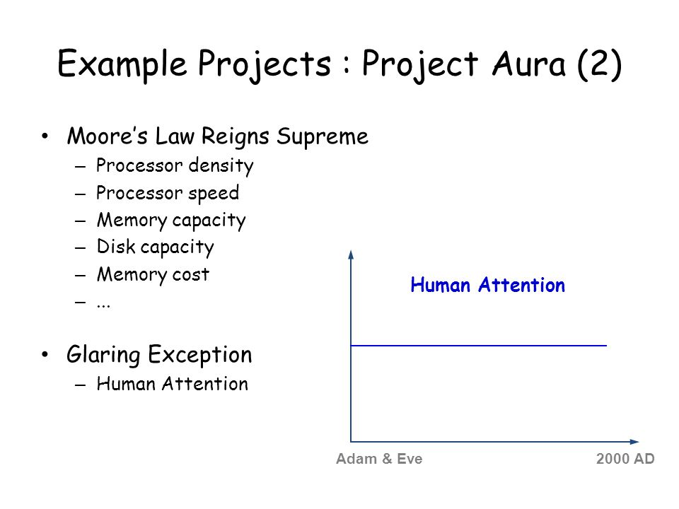 Example Projects : Project Aura (2)