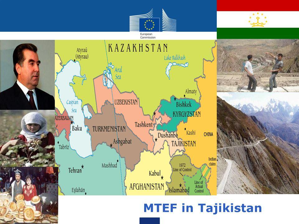 MTEF in Tajikistan MTEF in Tajikistan