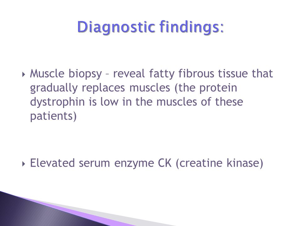 Diagnostic findings: