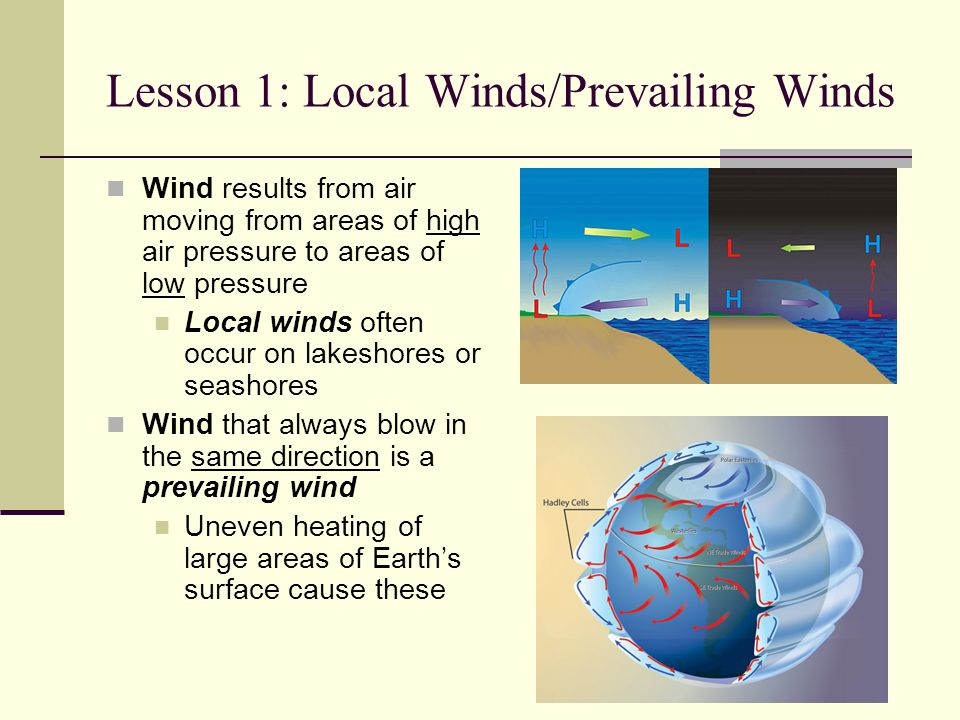 Lesson 1: Local Winds/Prevailing Winds