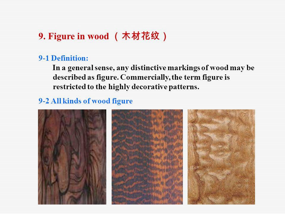 9. Figure in wood (木材花纹) 9-1 Definition: