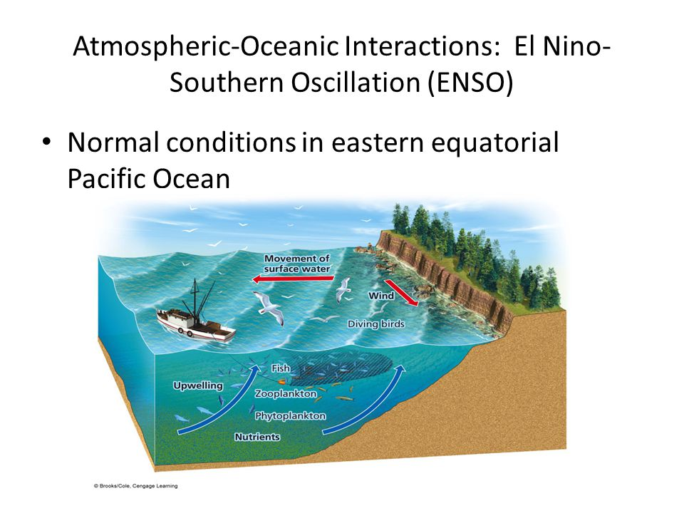 Atmospheric-Oceanic Interactions: El Nino-Southern Oscillation (ENSO)