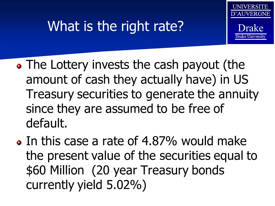 What is the right rate