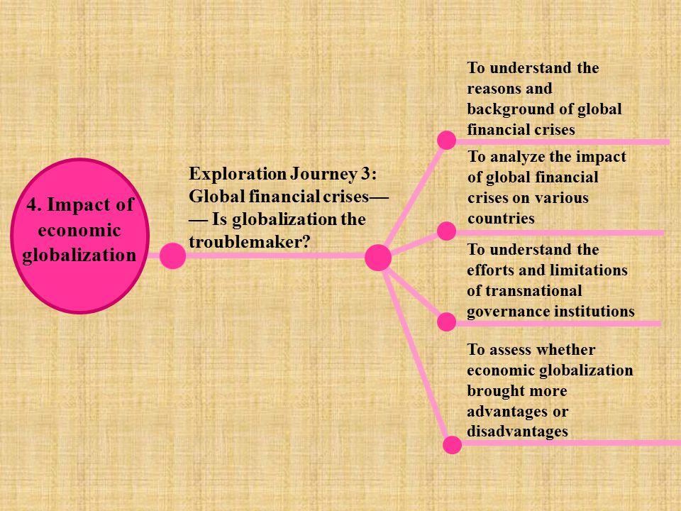 4. Impact of economic globalization
