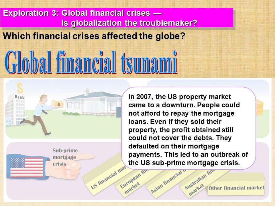 Global financial tsunami