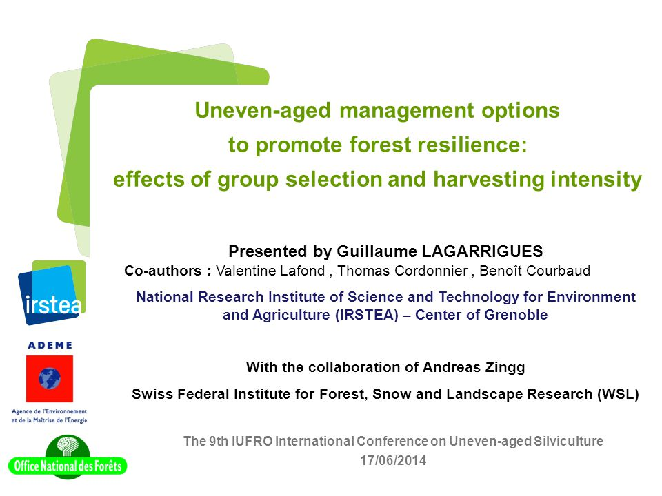 Uneven-aged management options to promote forest resilience: