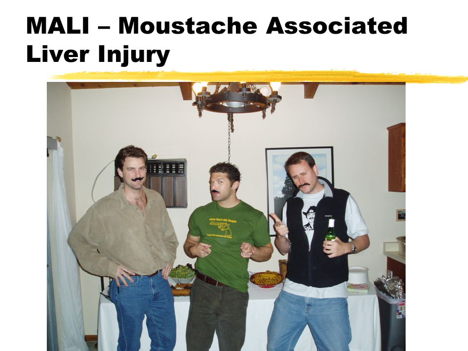 MALI – Moustache Associated Liver Injury
