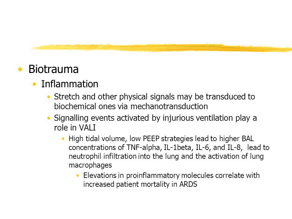 Biotrauma Inflammation