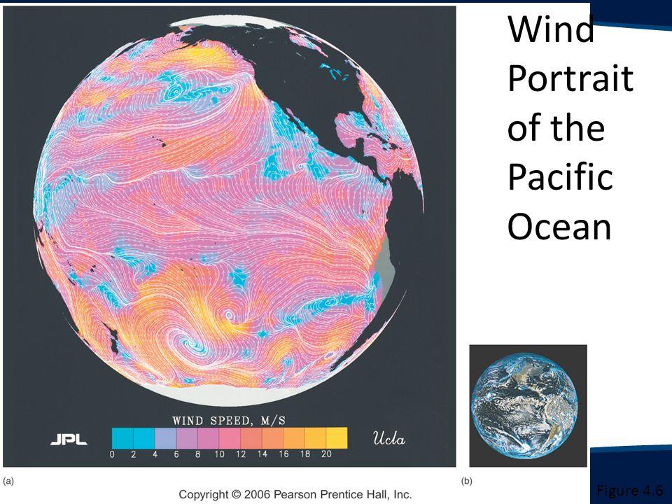 Wind Portrait of the Pacific Ocean