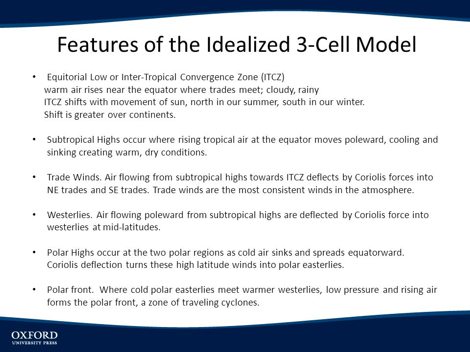 Features of the Idealized 3-Cell Model