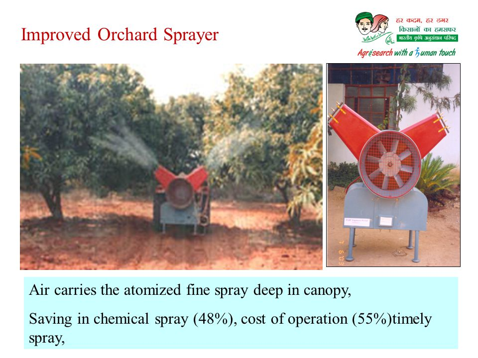 Improved Orchard Sprayer