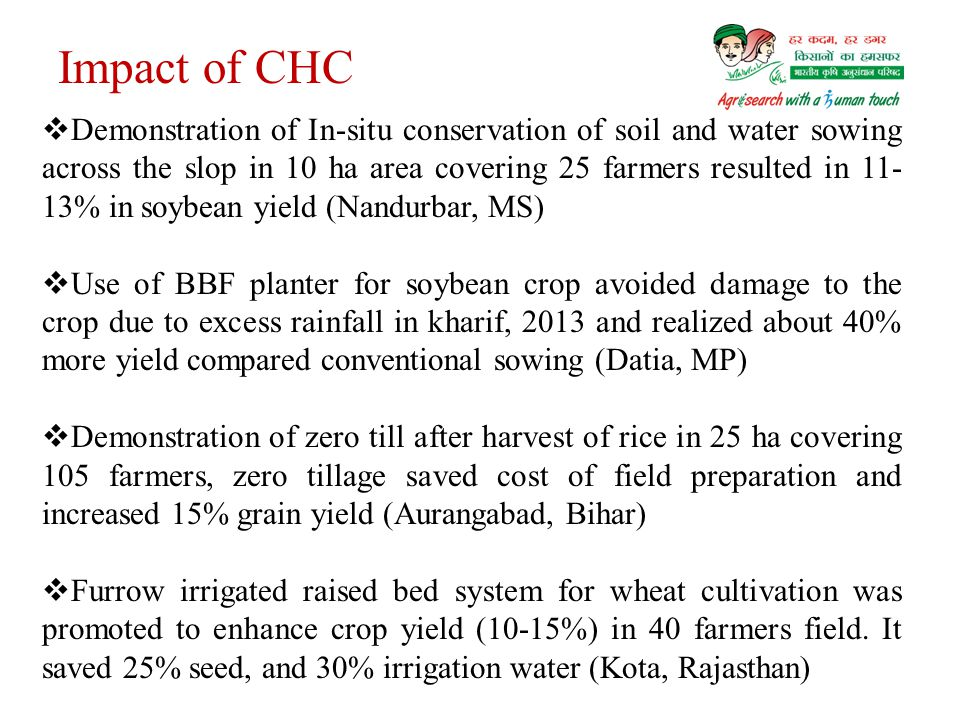 Impact of CHC