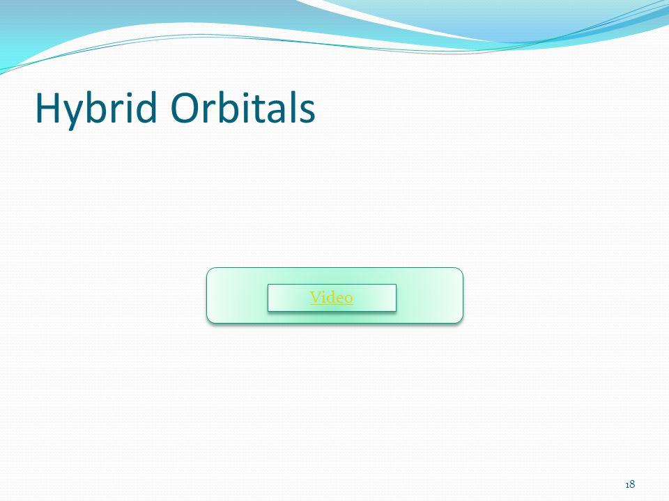 Hybrid Orbitals Video