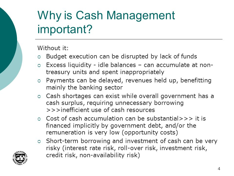Why is Cash Management important