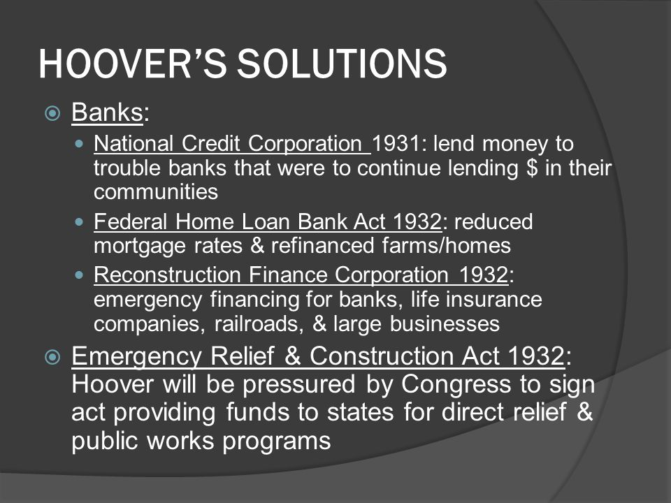 HOOVER'S SOLUTIONS Banks: