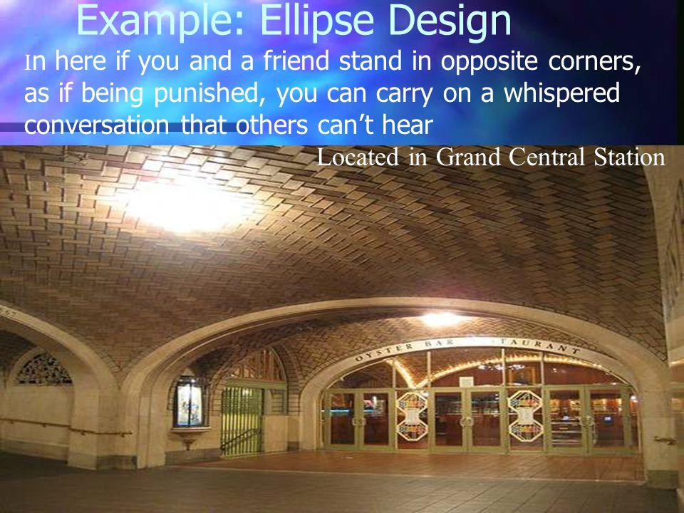 Example: Ellipse Design