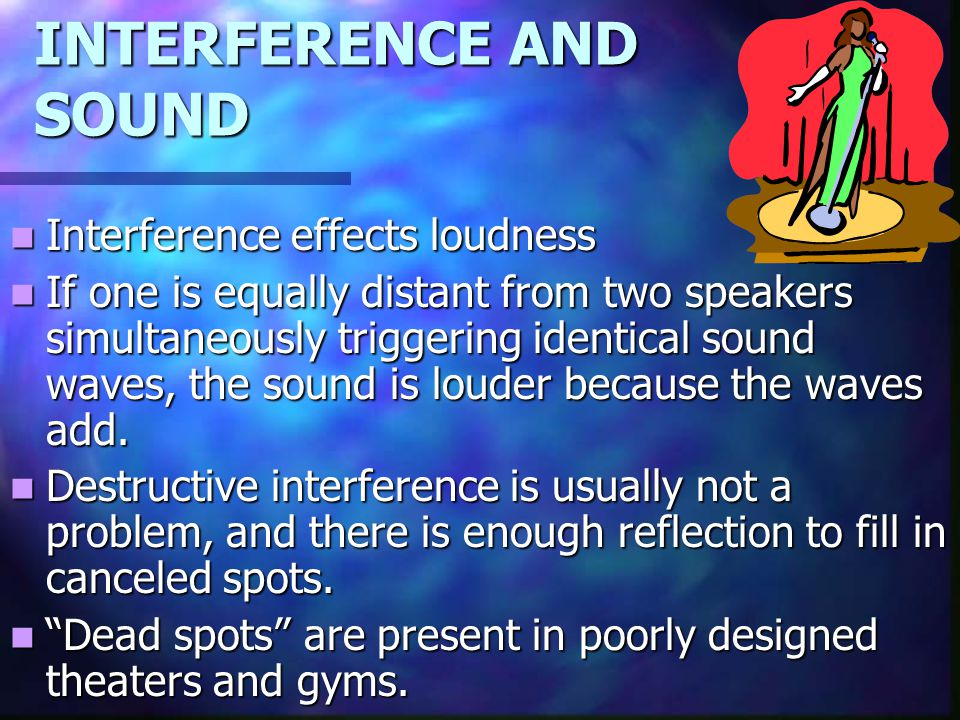 INTERFERENCE AND SOUND