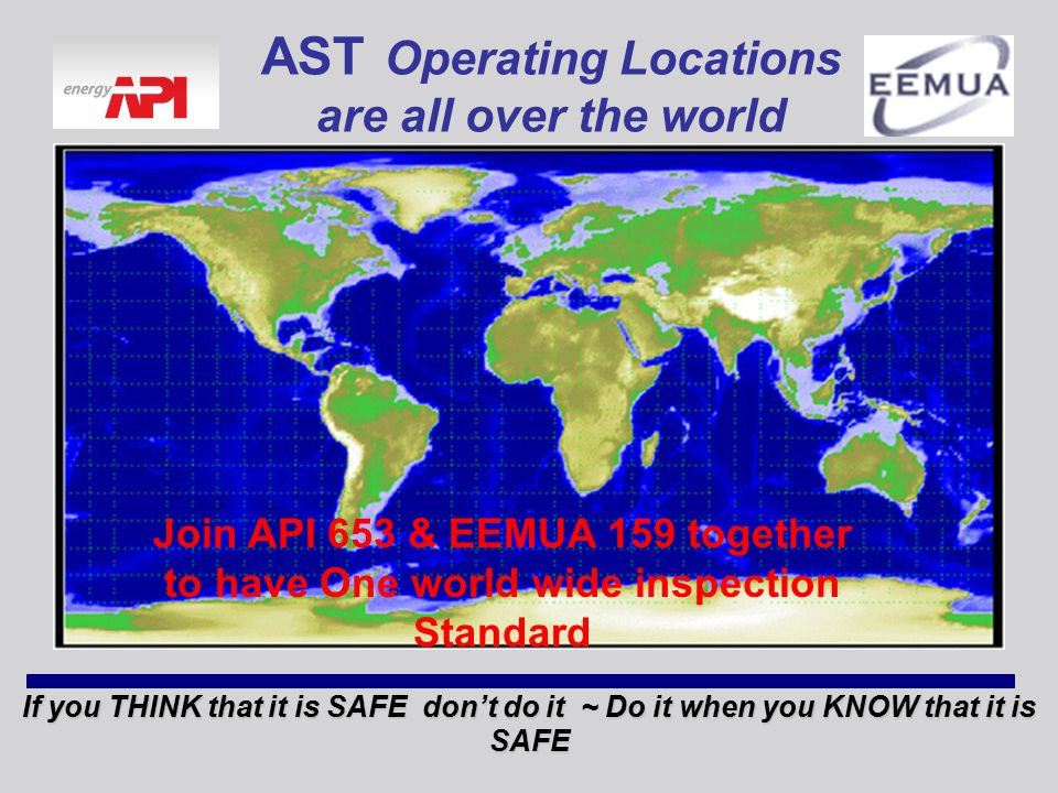 AST Operating Locations are all over the world