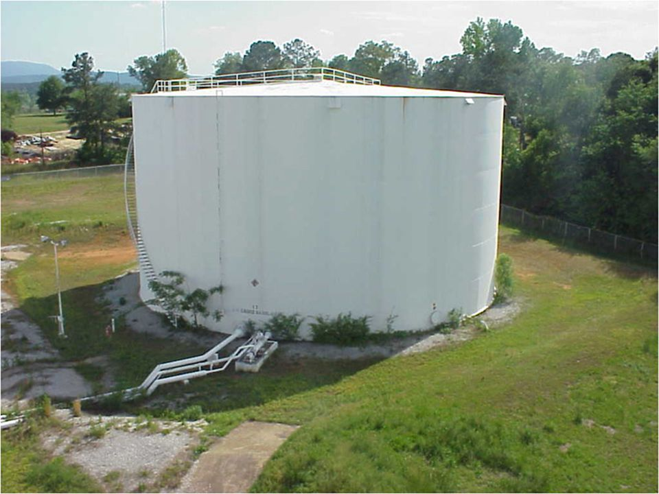 Murphy Oil Anniston, AL relocation of a 90 ft diameter tank the job was completed Feb 2001