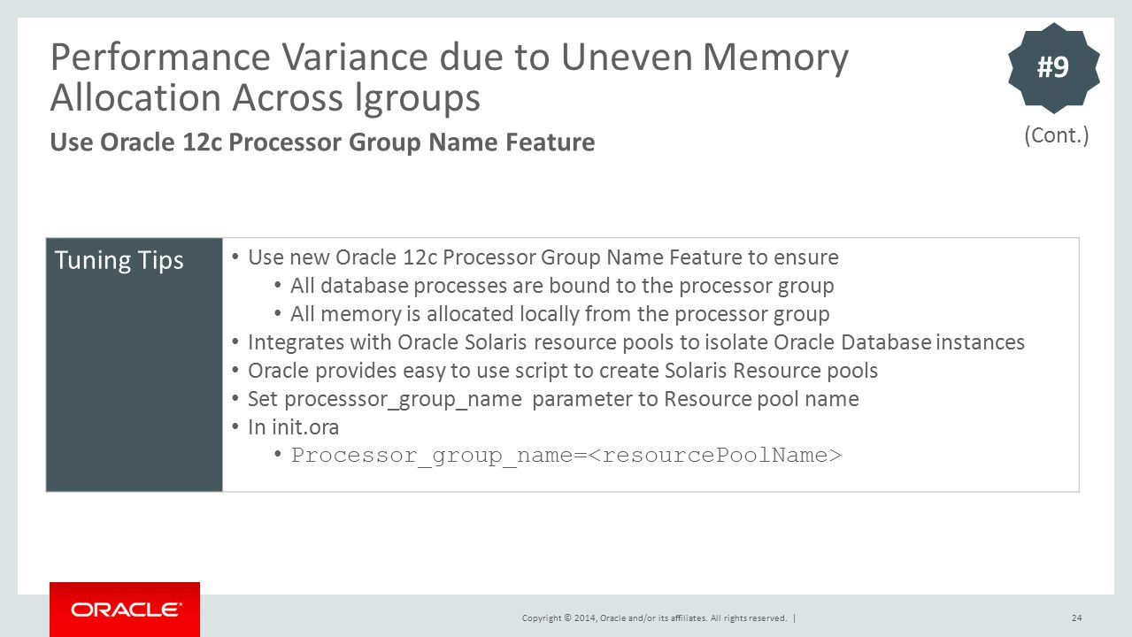 Performance Variance due to Uneven Memory Allocation Across lgroups