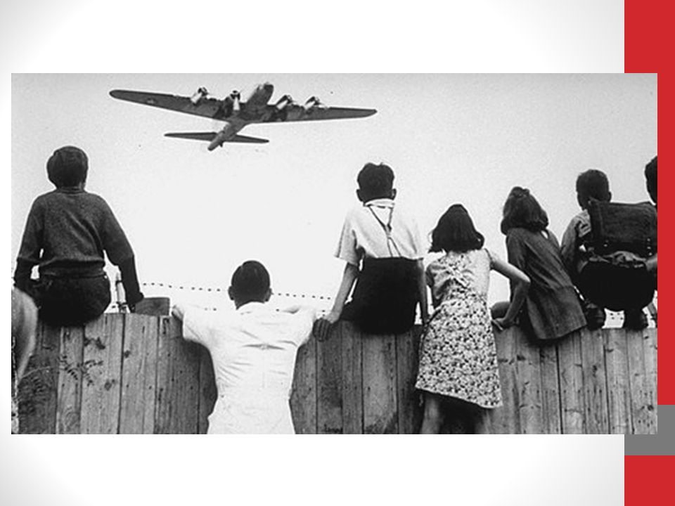 The effects of the Berlin Airlift