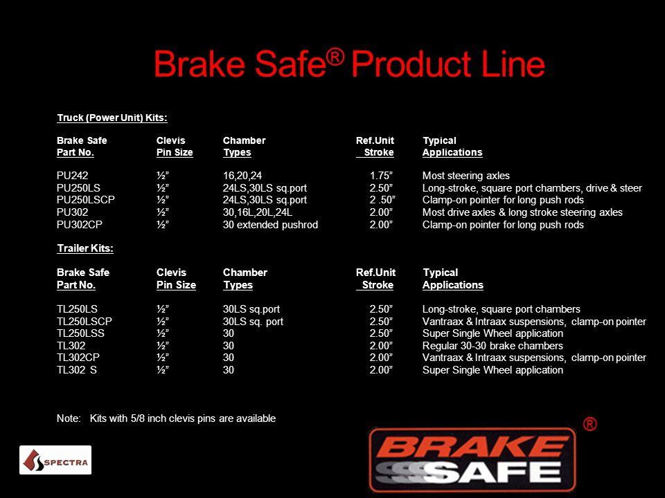 Brake Safe® Product Line