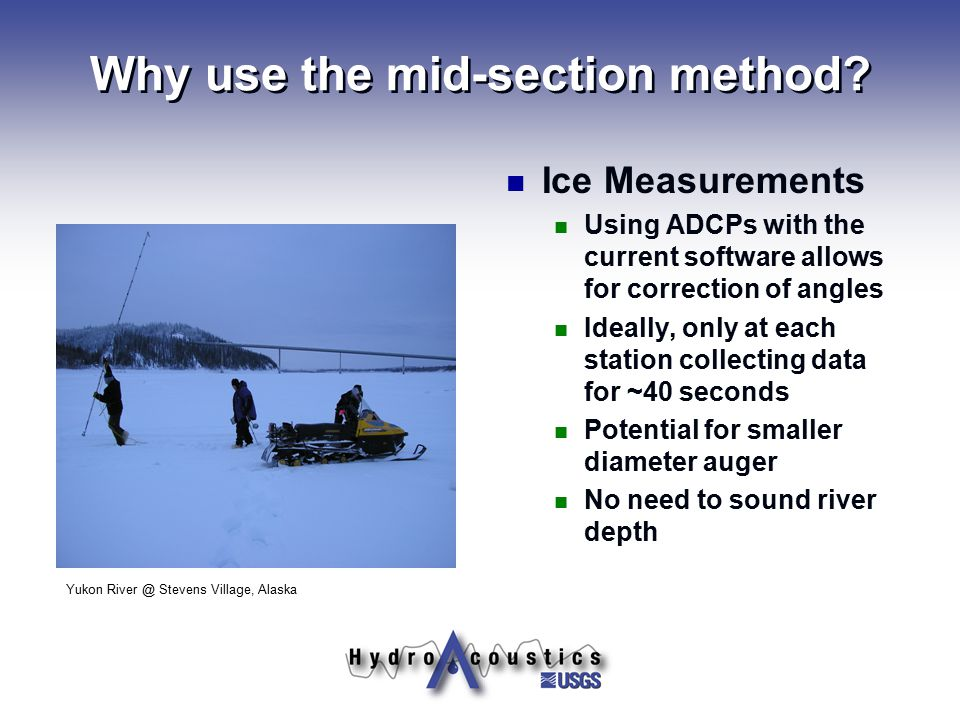 Why use the mid-section method